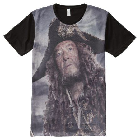Barbossa - Command Respect All-Over-Print Shirt - click to get yours right now!