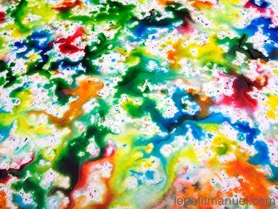 Peindre sous la pluie. Ou : combattre la mauvaise humeur des jours de pluie.