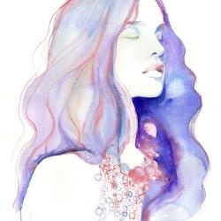 .: Watercolor Portraits, Watercolor Paintings, Fashion Models, Watercolors, Watercolor Fashion, Cate Parr, Water Colors, Fashion Illustrations, Cateparr