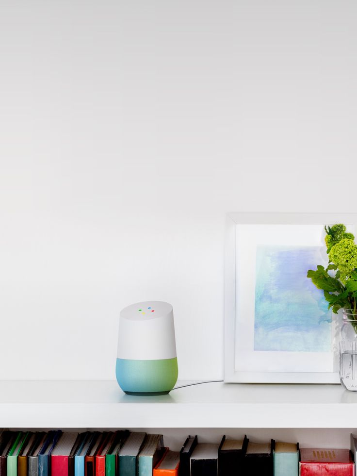*Google Home is a voice interface that can search for information, stream music, and more. -Courage Kenny Rehabilitation Institute