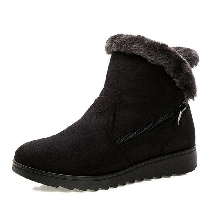 new Rabbit Fur Boots MNS Women Boots Double buckle Snow boots Hot sales women's winter snow boot Brand glitter2009 brand new unisex cheap price MF4WZQ5q