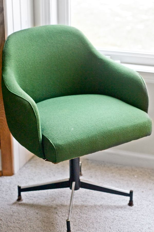 sarah m dorsey designs Ikat Chevron fice Chair ReUpholstery