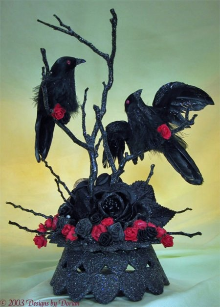 This Is A Gothic Cake Topper Custom Made By A Cakery In My Region Katie But