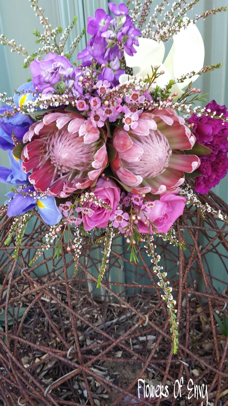 Mixed Native And Flower Bouquet 2014