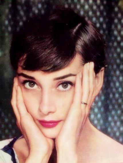 Audrey in color.