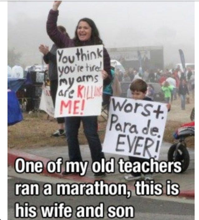 17 best ideas about funny marathon signs on pinterest
