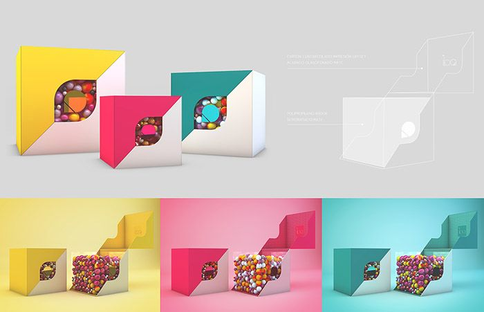 Packaging · Visual Identity Designed by: Inés Ortega San Miguel, Spain.