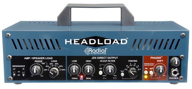 Gearjunkies.com: Radial Engineering introducing Headload Guitar Amp