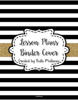 Give your lesson plan binder a fresh new look with this cover that features a black and white striped pattern and and gold with a cute label.If you like this freebie, check out my Editable Teacher Binder Pack.Customer Tips:How to get TPT credit to use on future purchases: Please go to your My Purchases page (you may need to login).