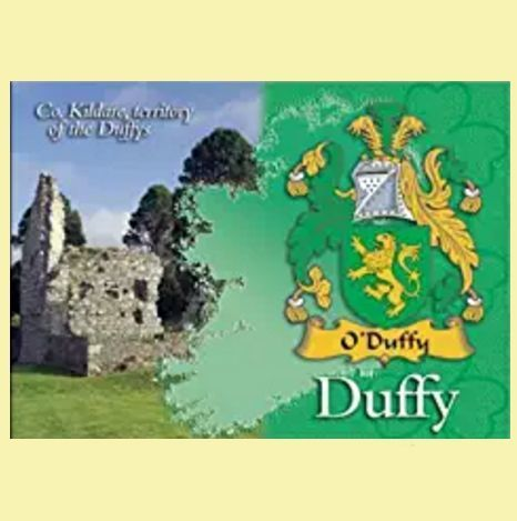 For Everything Genealogy - Duffy Coat of Arms Irish Family Name Fridge Magnets Set of 2, $12.00 (http://www.foreverythinggenealogy.com.au/duffy-coat-of-arms-irish-family-name-fridge-magnets-set-of-2/)