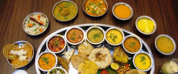 Rajasthani Thali - royal platter