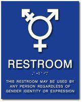Gender Neutral Gender Neutral Bathroom Signs And Gender