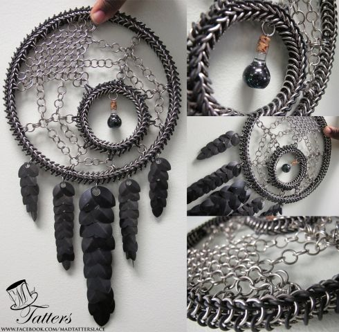 """""""Black Spider"""" Dreamcatcher - Dreamcatchers & Candle Holders - Gallery - TheRingLord"""