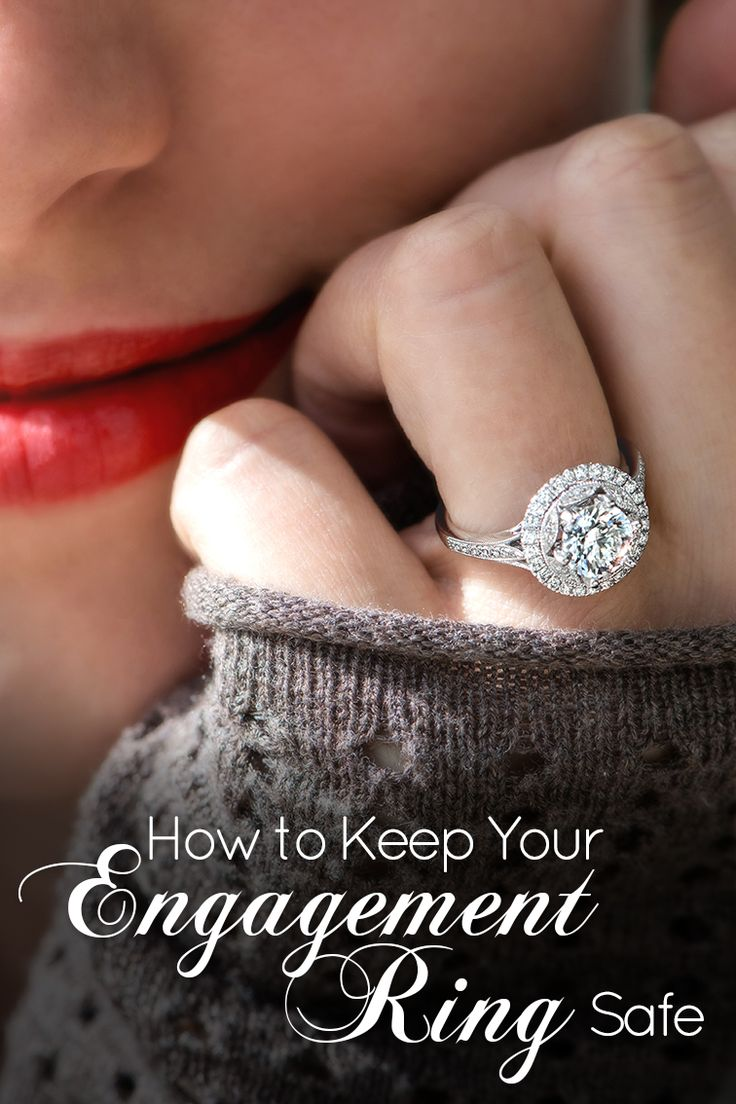 Your engagement ring is likely one of your most prized possessions. Here are five tips to help keep it safe!