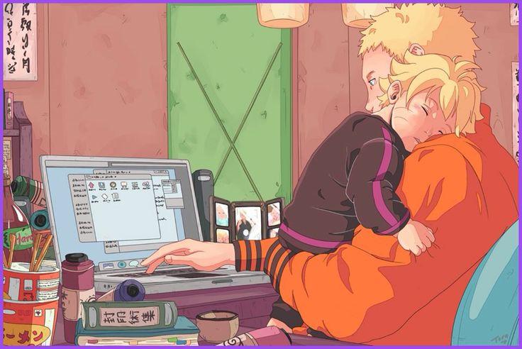 Naruto with Bolt