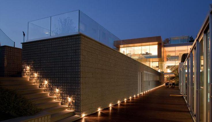 Illuminazione esterna: decorazione della parete con Glim Cube