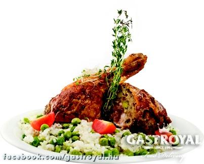 Hagyományos Gödöllői csirkecomb rizibizivel  http://www.gastroyal.hu/rendeles/etlap