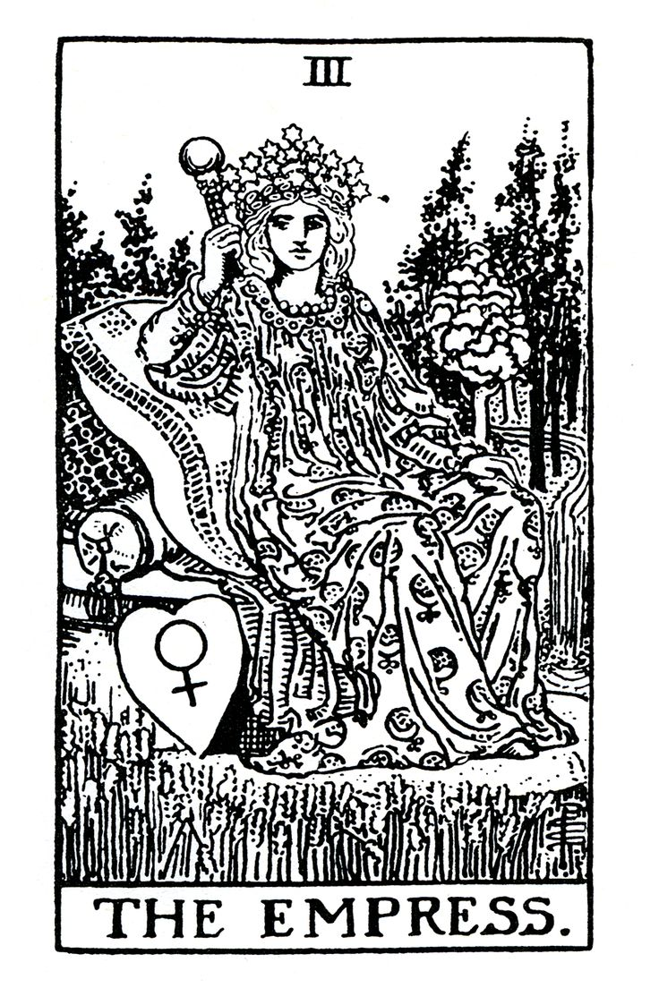 The Empress And Death Antique Tarot Cards: Tarot, Search
