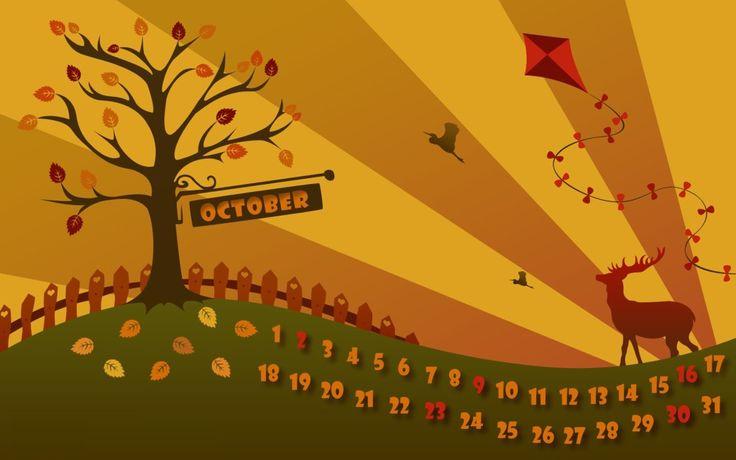 October Pretty Autumn