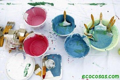 Pinturas caseras y ecologicas
