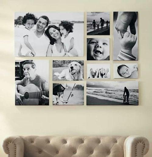 Bilderrahmen collage selber machen anleitung  Die besten 25+ Collage bilderrahmen Ideen nur auf Pinterest ...