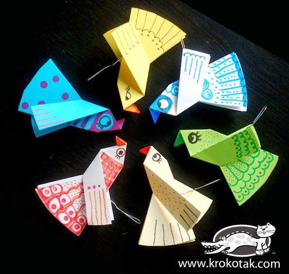 Játékos tanulás és kreativitás: Egyszerű nyuszik, madárkák, virágok papírból