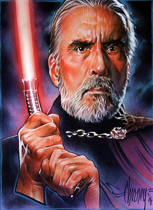 Join us in wishing a happy 92nd birthday to Sir Christopher Lee, the legendary actor that brought Count Dooku to life.