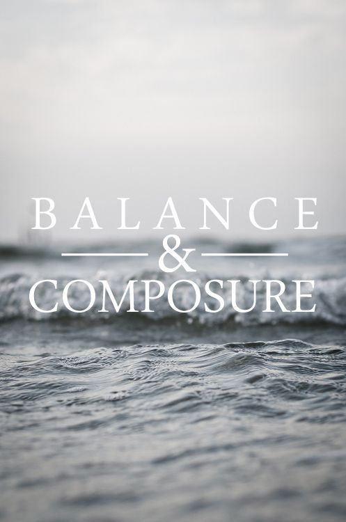 balance & composure | Cyell