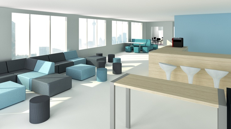 Soft seating by Ahrend