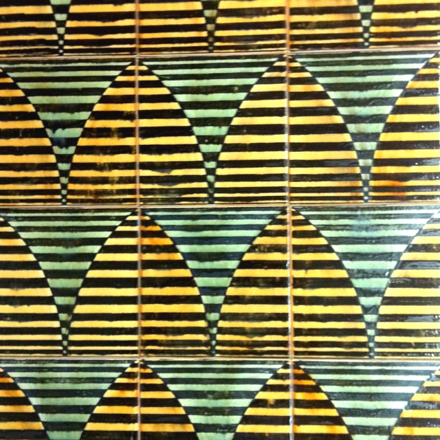 New tile pieces I'm showing at the Architectual Digest Home Show March 22-25 in NYC