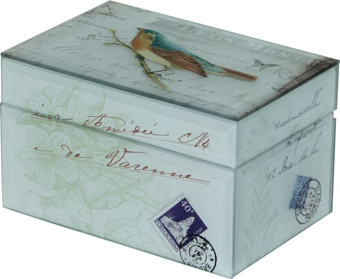 The Bird Jewellery Box from Urban Barn is a unique home decor item. Urban Barn carries a variety of Storage + Organization and other  products furnishings.