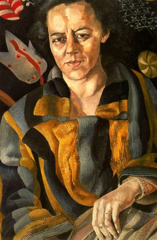 """The Psychiatrist, 1945 - Stanley Spencer  """"And you think you have problems ?"""""""