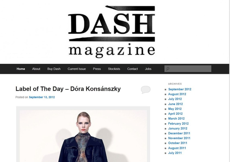 dash magazin