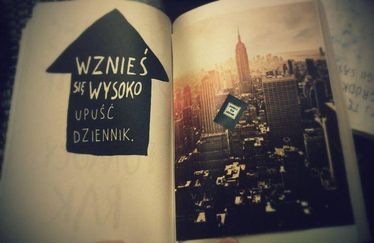 Podesłała Anna Łęgowik #zniszcztendziennik #kerismith #wreckthisjournal #book #ksiazka #KreatywnaDestrukcja #DIY