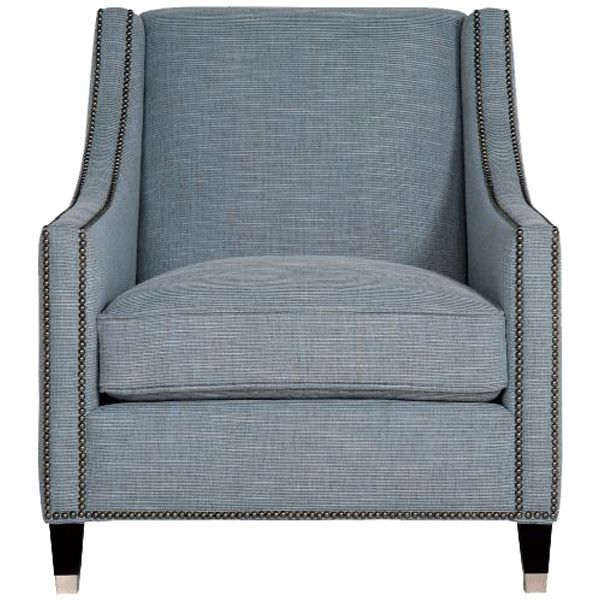 Bernhardt Interiors Palisades Chair  Furnishings  Teal