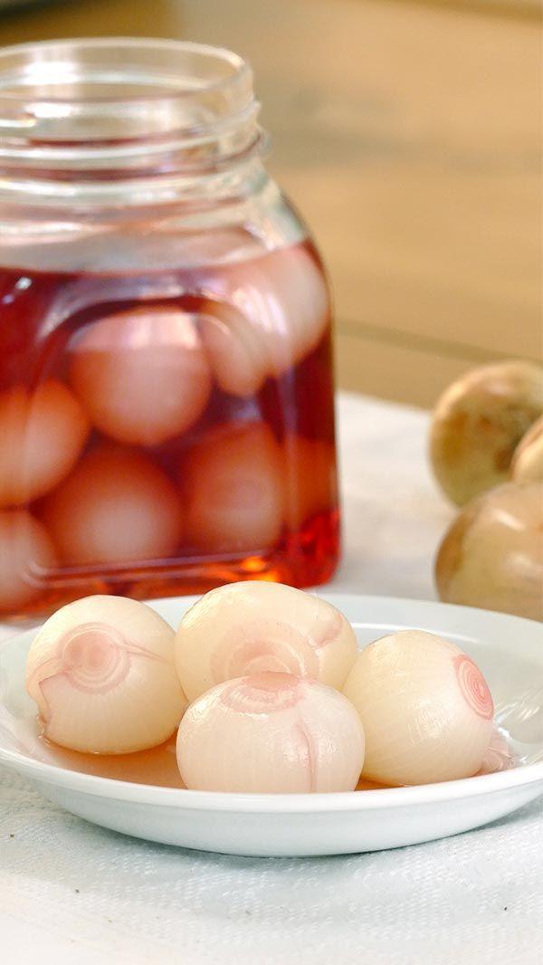 Cómo Hacer Cebolletas En Vinagre Cocinatis Receta Encurtidos Caseros Encurtidos Recetas Fáciles