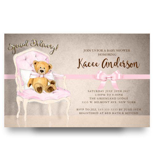 cheap baby shower invitation