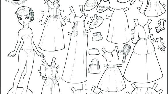 Paper Doll Coloring Pages Paper Dolls Coloring Pages Paper Doll Coloring Page Paper Doll Coloring P Frozen Paper Dolls Paper Dolls Printable Disney Paper Dolls