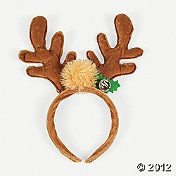 17 best images about kids crafts on pinterest hanging for Reindeer antlers headband craft