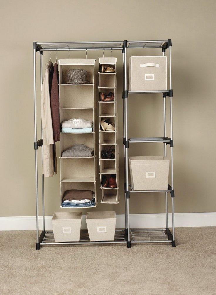 Wardrobe Racks, Stand Up Closet Portable Wardrobe Closet Stand Up Closet Organizer: awesome stand up closet