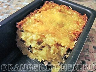 Вегетарианский рецепт запеканки из картофельного пюре