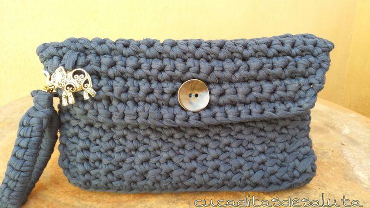 Cartera de mano / Bag of hand - Vintage ¡ DIY !
