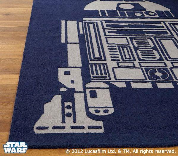 R2 D2 Area Rug Starwars