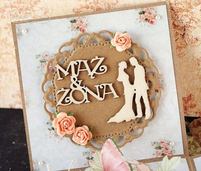 mąż i żona  http://www.hurt.scrap.com.pl/tekturowe-napisy-slubny-maz-zona-7szt.html