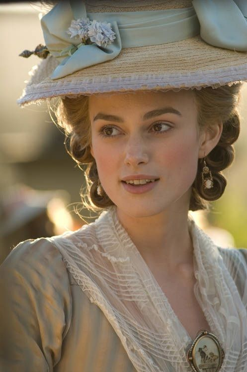 Keira Knightley as Georgiana Cavendish, Duchess of Devonshire in The Dutchess