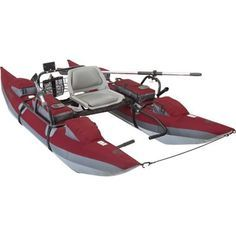 Classic Accessories Oswego Inflatable Pontoon Boat With Motor Mount - bassfishingmaniac...