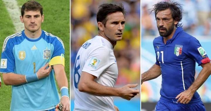 Mundial de Brasil 2014: Tres campeonas del mundo dicen adiós al Mundial. Italia e Inglaterra se unen a España y se van por la puerta de atrás de Brasil. Son tres selecciones que llegaban a Brasil en el 'Top 10' de la FIFA. De los grandes equipos de Europa solo Holanda ha sellado ya su pase. Por contra, Brasil, México, Chile, Colombia, Costa Rica y Uruguay ya están en octavos