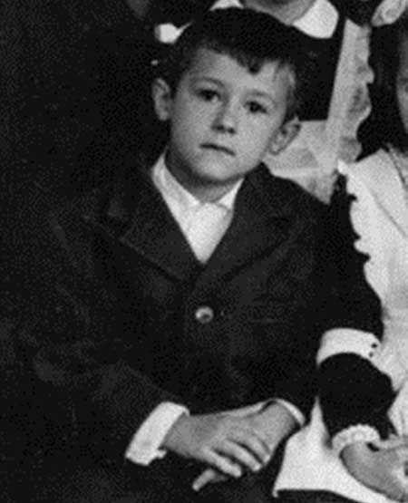 Oleg as a little boy...