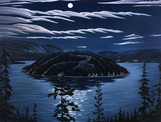 Donald Flather - Copper Islands Night Scene