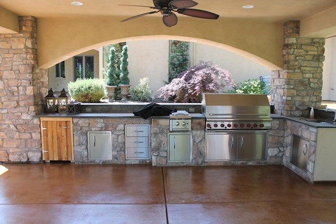 40 Best Outdoor Kitchens Images On Pinterest Outdoor